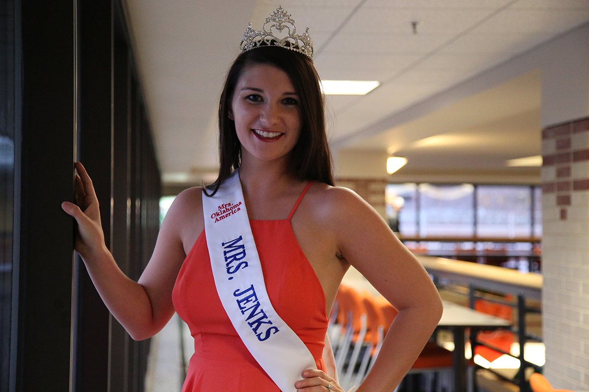 OSU-Tulsa graduate student Jessica Walter will compete in the Mrs. Oklahoma Pageant on March 9-10 in Guthrie.