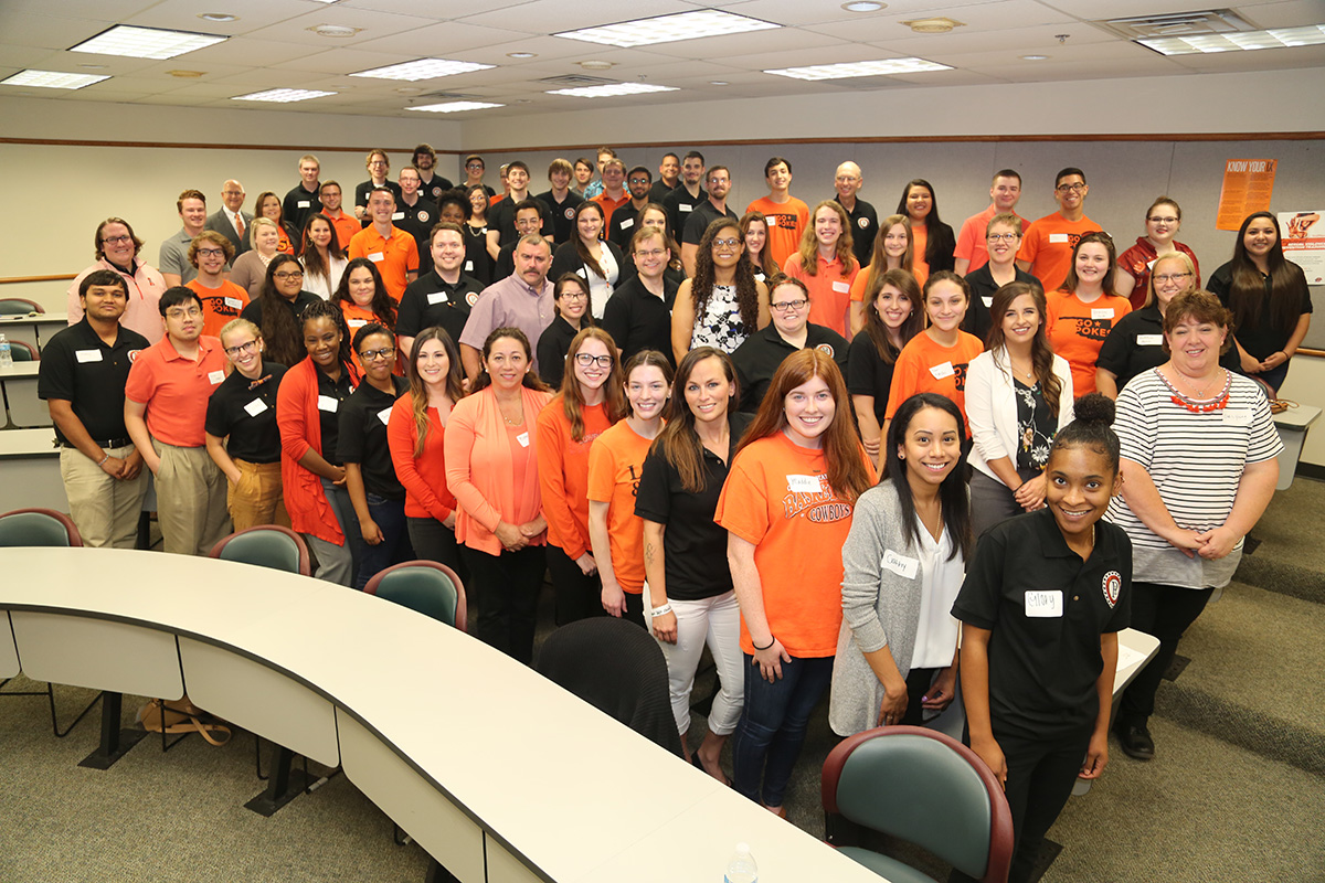 2018-19 President's Leadership Society at OSU-Tulsa