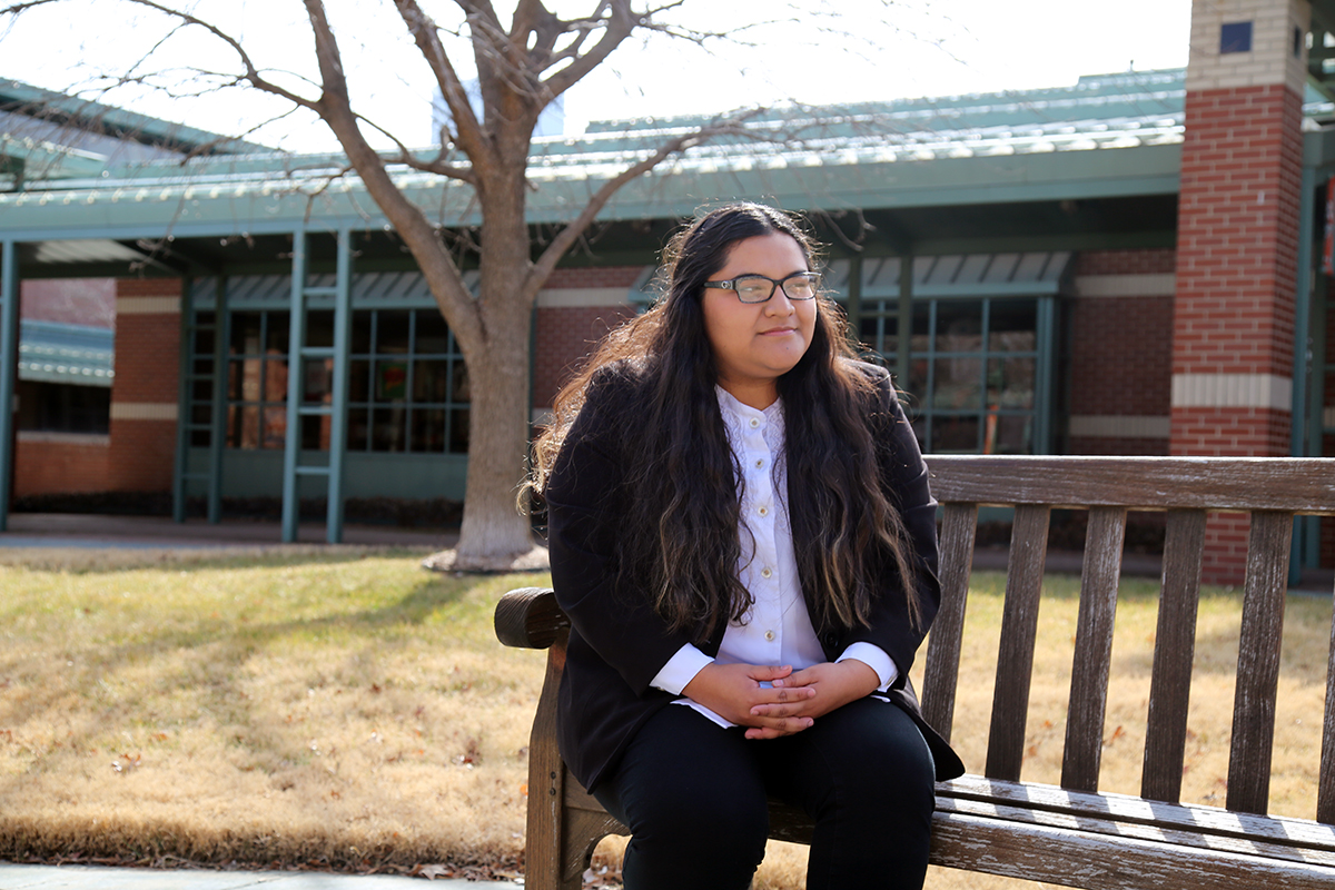 OSU-Tulsa student Amairani Perez Chamu aspires to direct Hollywood films.