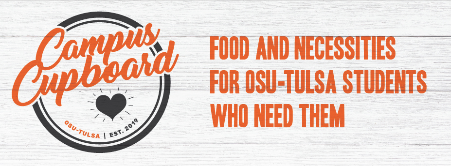 Campus Cupboard - Food and Necessities for OSU-Tulsa students who need them