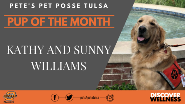 March's Pete's Pet Posse Pup of the Month: Sunny