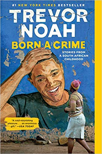 Born a Crime, book cover
