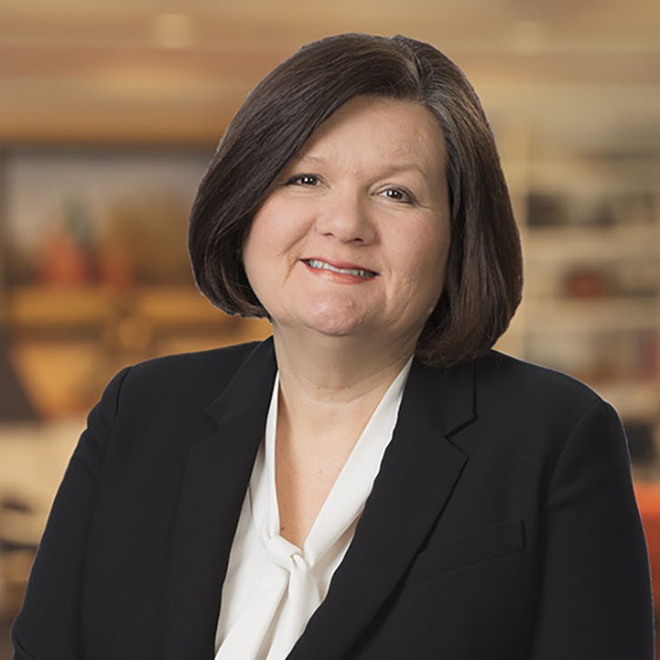 A portrait of OSU-Tulsa President Pamela Fry, a member of Leadership Oklahoma Class 34.