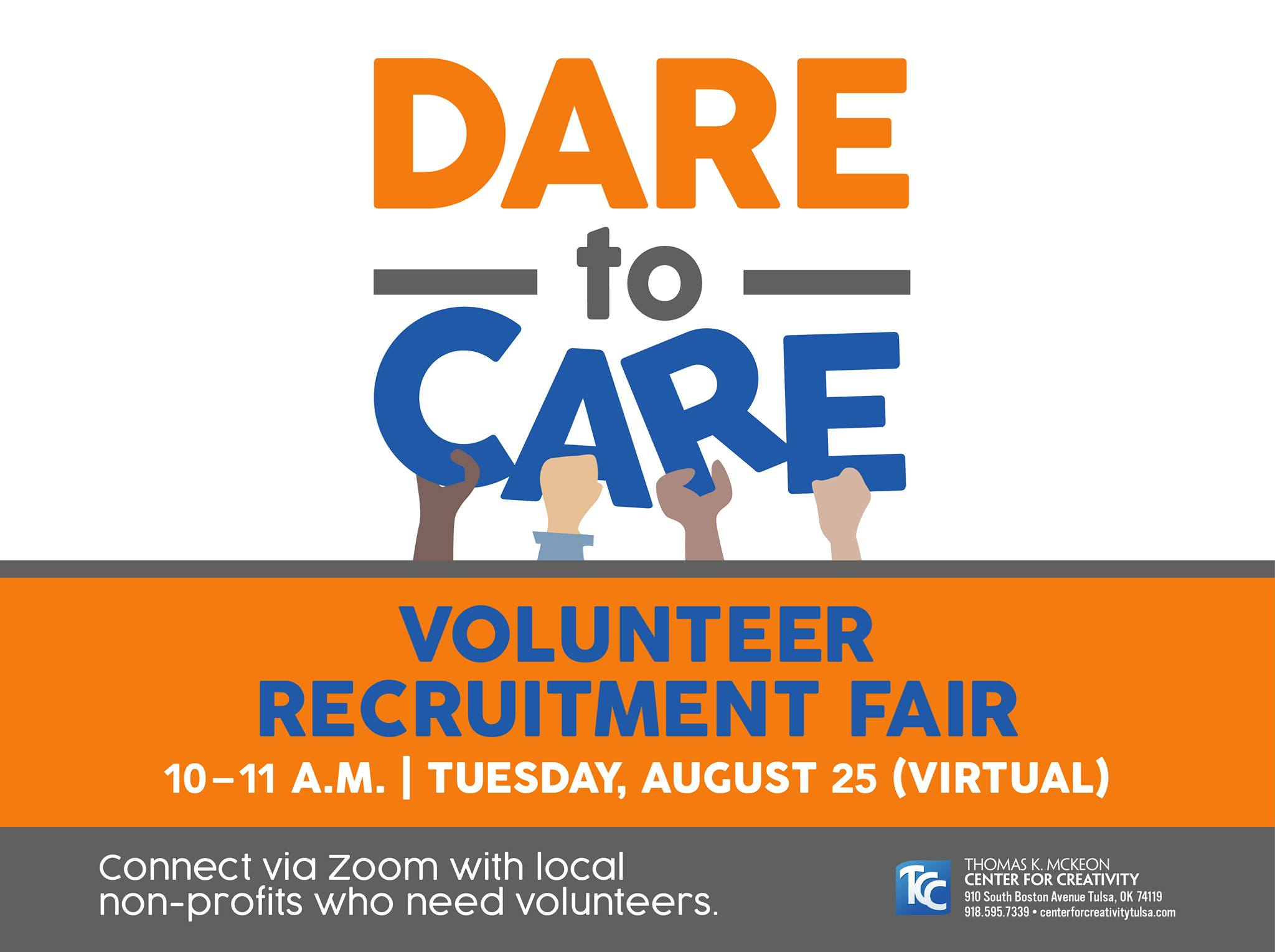 Dare to Care Volunteer Recruitment Fair