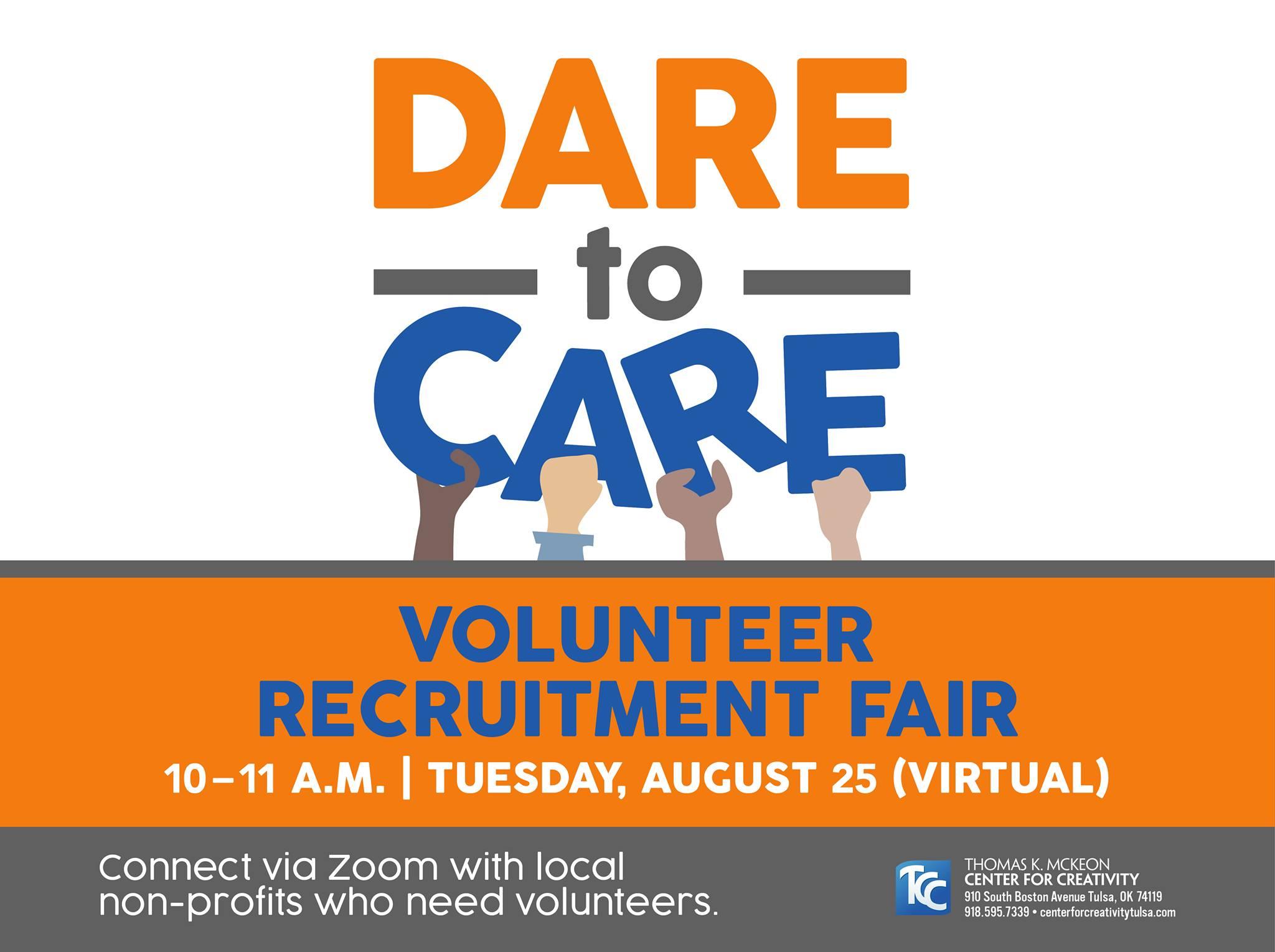 Dare to Care Volunteer Recruitment Fair