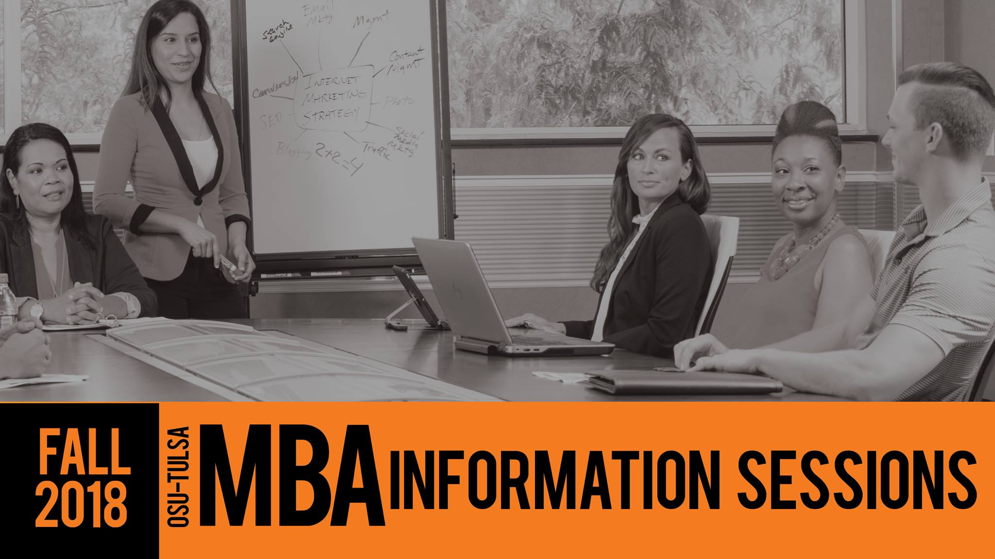 Fall 2018 OSU-Tulsa MBA Information Sessions