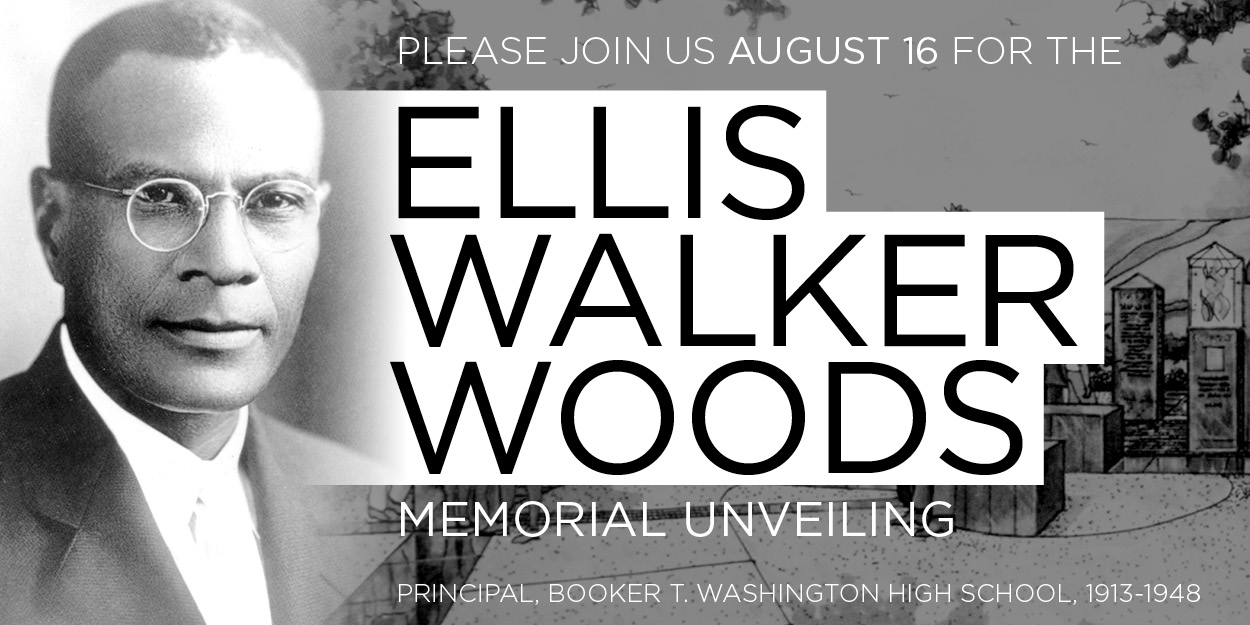 Ellis Walker Woods Memorial Unveiling