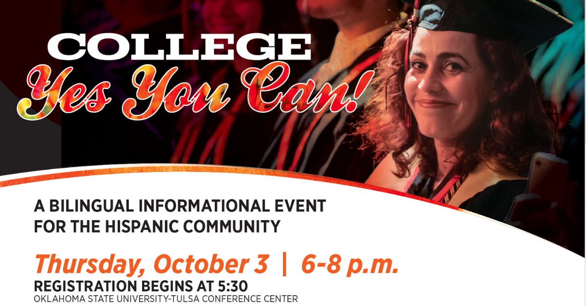 College - Yes You Can! Bilingual Informational Event for the Hispanic Community