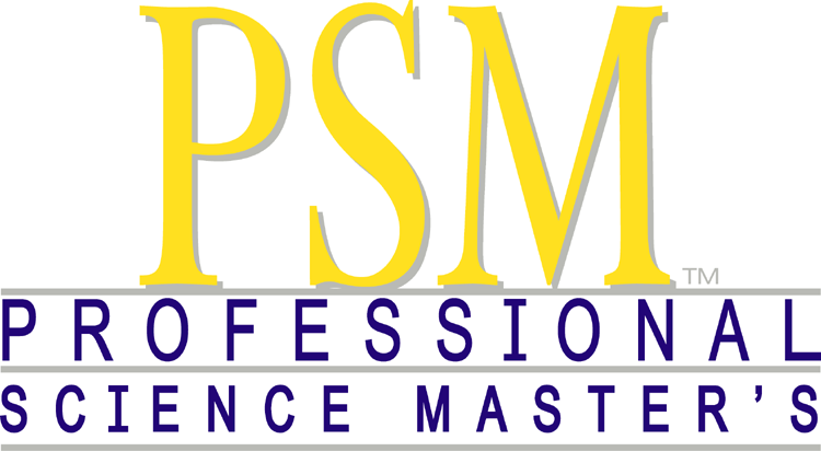 The program is accredited by the National Professional Science Master's Association.