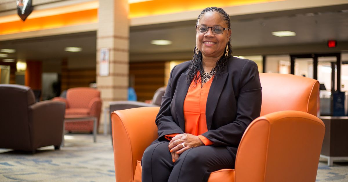"Emonica ""Nekki"" Reagan-Neeley is OSU-Tulsa's first assistant vice president for community engagement and student services."