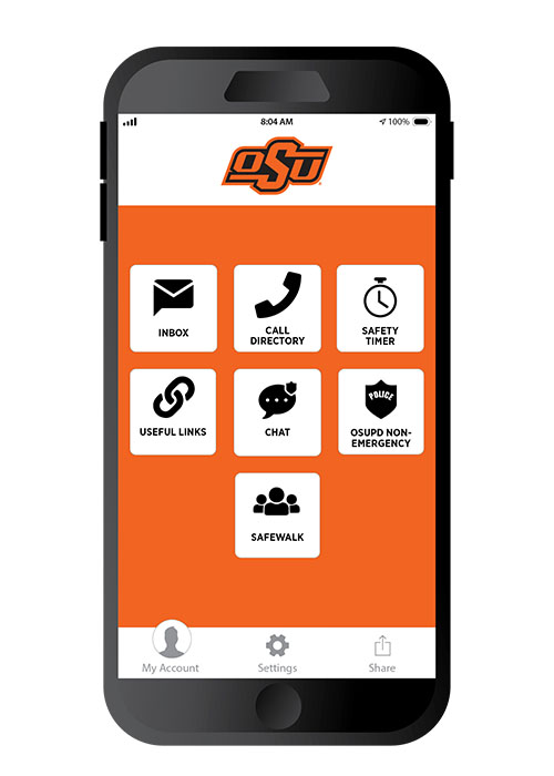 Students, faculty and staff are encouraged to download Rave Guardian, a personal safety app.