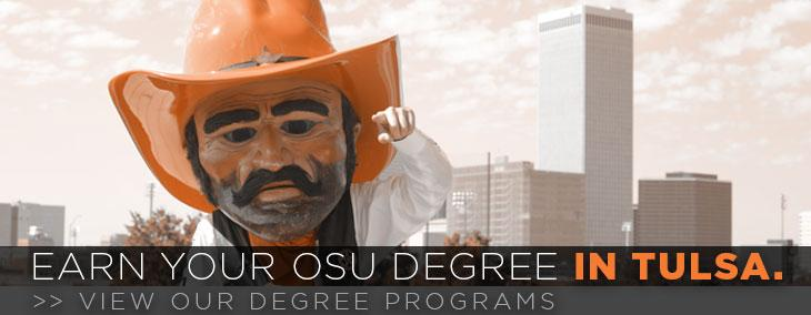 Earn an OSU degree in Tulsa
