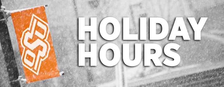 OSU-Tulsa Winter Holiday Hours