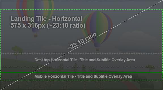 Example tile horizontal