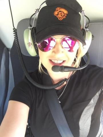Dr. Mallory Casebolt, OSU-Tulsa assistant professor of aviation