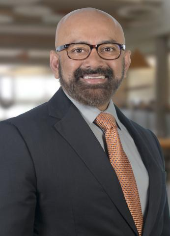 Portrait of Dr. Raman Singh, head of the School of Materials Science and Engineering at OSU-Tulsa and associate dean for the College of Engineering, Architecture and Technology